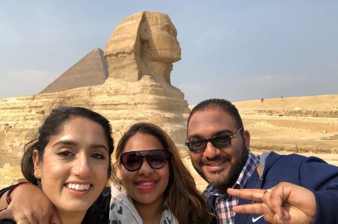 Giza complex pyramids sphinx Egyptian museum tour