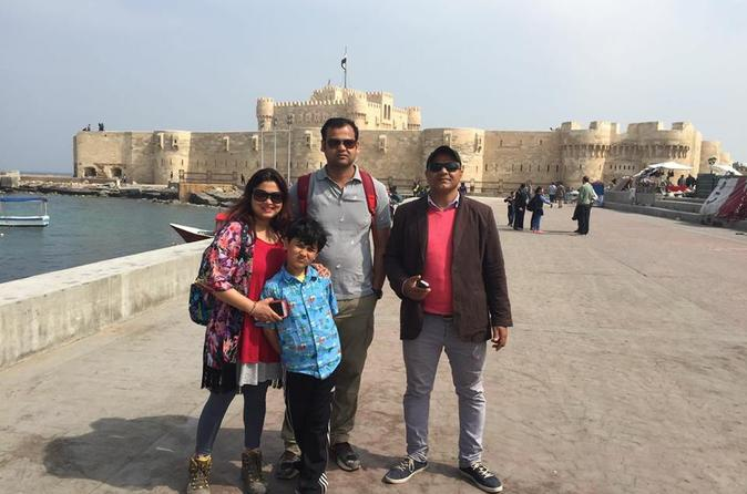 Small Group Day Tour to Alexandria from Cairo or Giza hotel