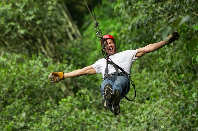 Cancun combo tour atv and zipline with cenote swim in cancun 208942