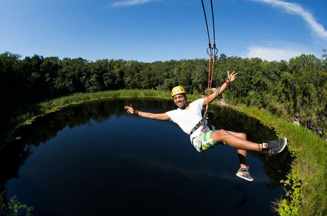 Maya Adventure from Cancun: Coba Ruins, Traditional Village and Cenote Swim