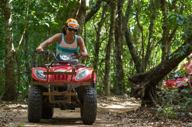 Native's Park ATV Adventure in Playa del Carmen Including Cenote Swim