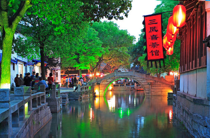 2-Day Shanghai and Suzhou Private Tour with Tongli or Zhouzhuang