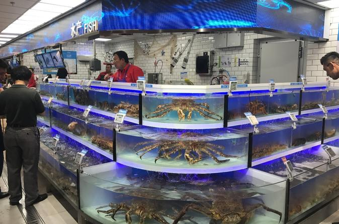 4-Hour Private Tour to Alibaba Hema Supermarket and Shanghai Local Wet Market