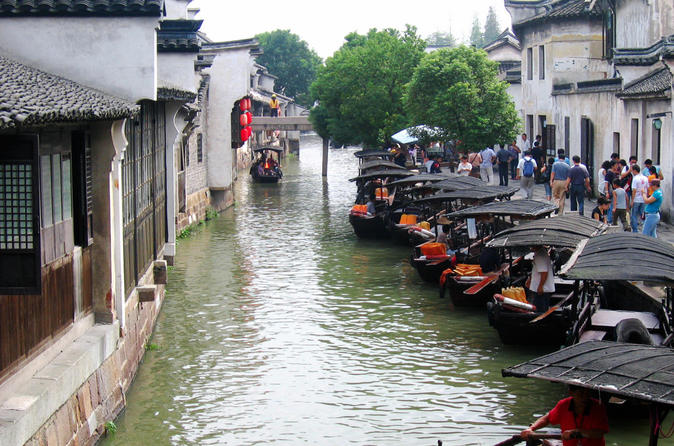 Half Day Private Tour to Zhujiajiao Water Town with Boat Ride from Shanghai