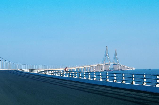 Independent Tour to Shanghai Donghai Bridge and Yangshan Port