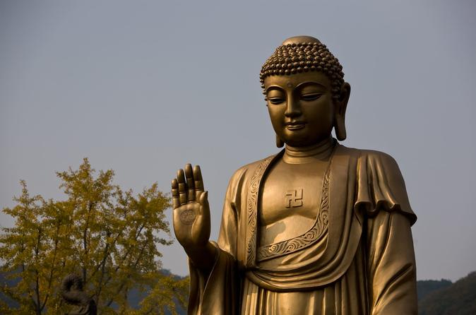 Private Day Trip to Lingshan Buddhist Scenic Spot from Shanghai by Bullet Train