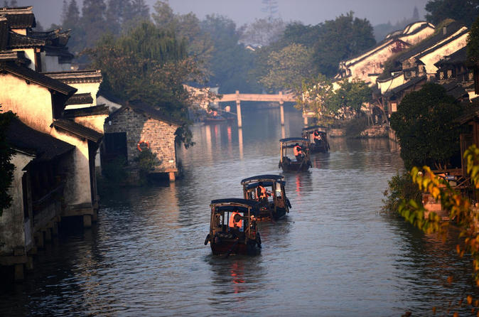 Private Day Trip to Wuzhen Water Town from Shanghai with Lunch and Boat Ride