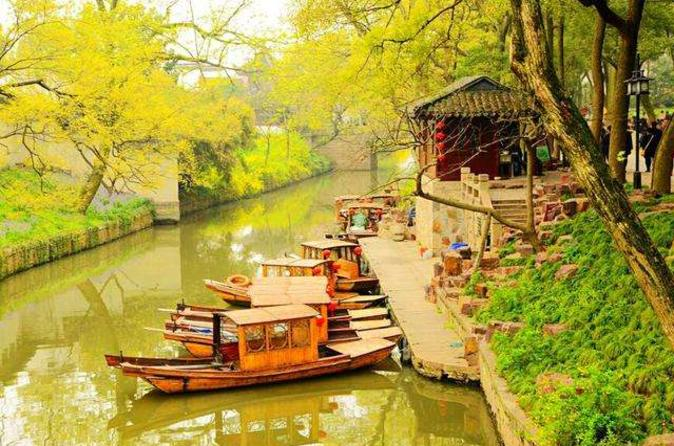 Private Suzhou Day Trip from Shanghai by Bullet Train with Canal Boat, Rickshaw