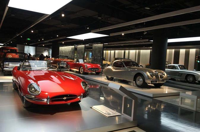 Private Transfer between Shanghai Auto Museum and City Hotels