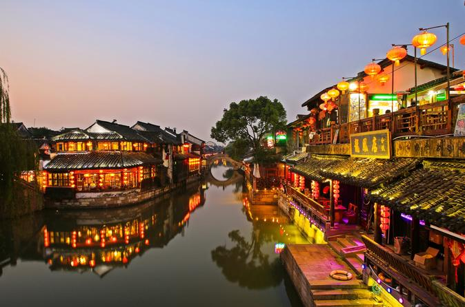 Private Trip to Xitang and Liantang Water Village from Shanghai with Dinner and Boat Ride