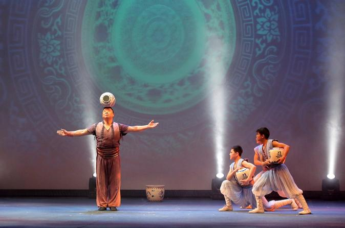 Shanghai Acrobatic Show Ticket with Private Transfer