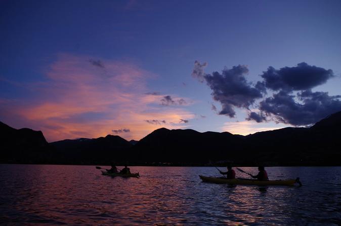Sunset kayaking tour in frisco 329548