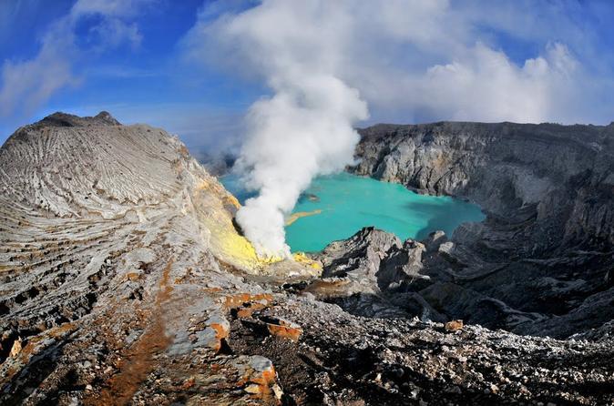 Mt. Ijen Blue Fire Trekking Tour from Bali