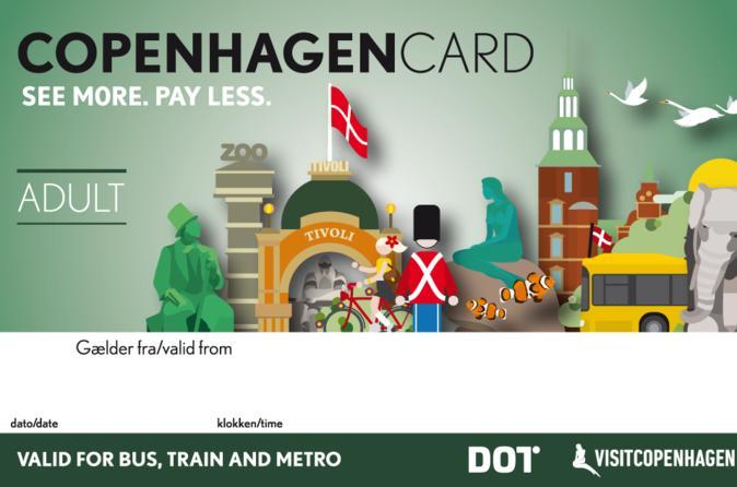 Copenhagen card in copenhagen 324147
