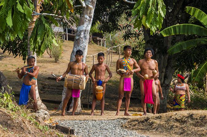 Embera Indigenous Community Tour From Panama City