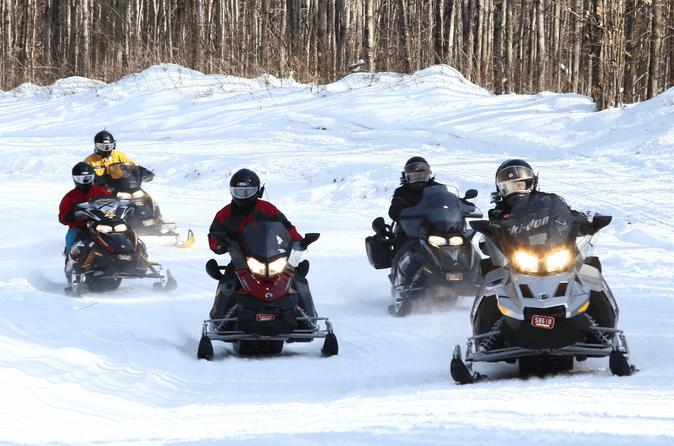 Guided Snowmobile Excursions in Northwest Wisconsin