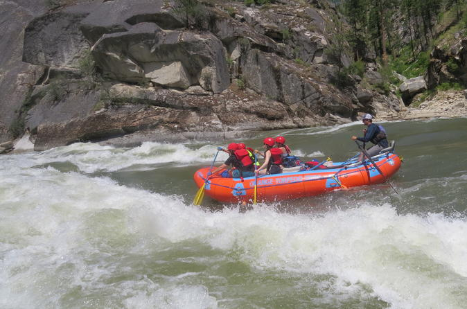 Grand Canyon of the Salmon River Rafting Vacation
