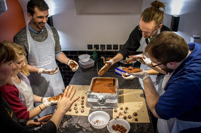 Chocolate-Making Workshop in Central Paris