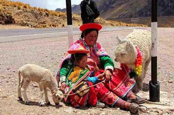 Cusco para Puno via Andahuaylillas e Raqch'i