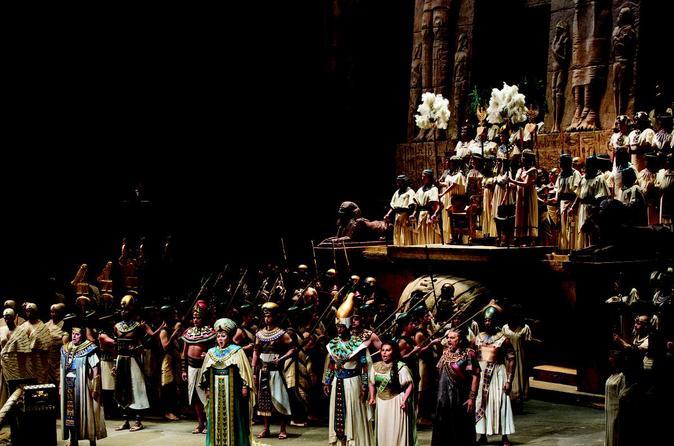 Aida at The Metropolitan Opera House