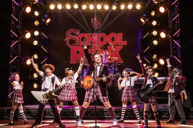school of rock andrew lloyd webber broadway musical tickets 2019