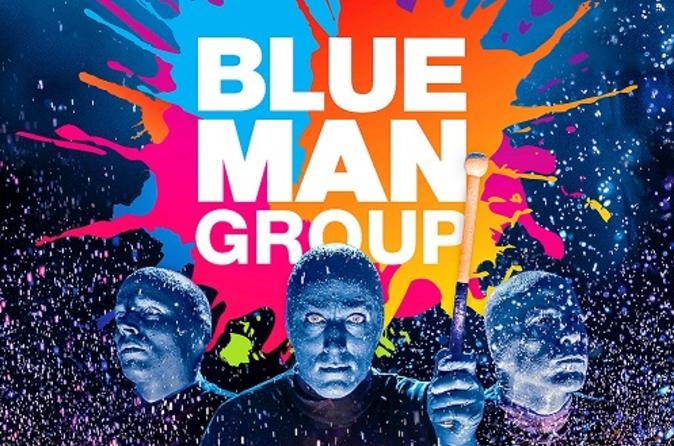 Show ao vivo do Blue Man Group na Off Broadway