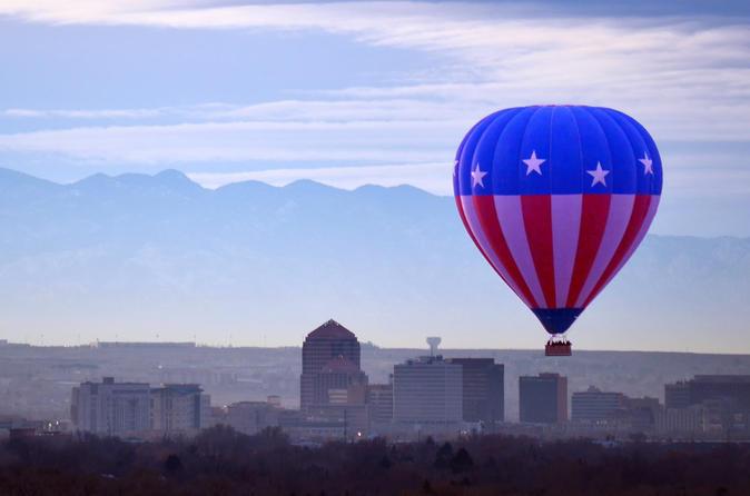 Albuquerque Rio Grande Balloon Ride