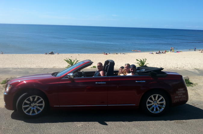 6-Hour Luxury Four Door Convertible Tour to Oahu's North Shore