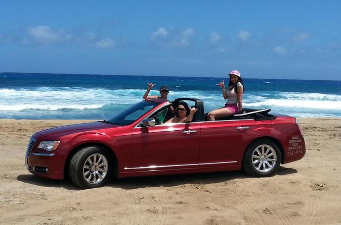 4 Door Convertible >> Honolulu Luxury Four Door Convertible Tour Of Oahu S South Shore In
