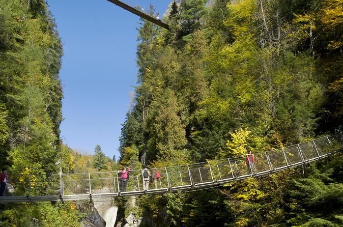 Excursão a pé pelo Canyon Sainte-Anne
