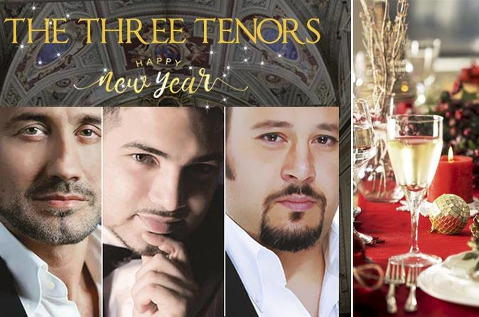 New Year's Eve Concert & Dinner in Rome: The Three Tenors