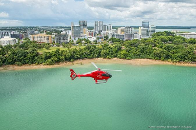 Hidden Valley and Port of Darwin 20-Minute Scenic Helicopter Tour Australia, Pacific Ocean and Australia