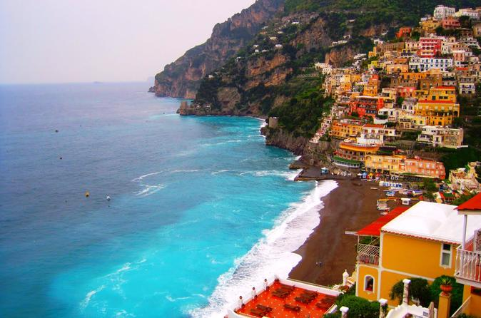 Sightseeing the Amalfi Coast with Lunch from Rome