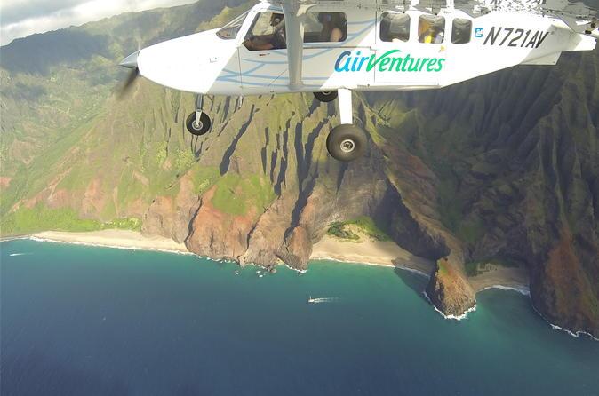 Excursão aérea por toda a ilha Kauai