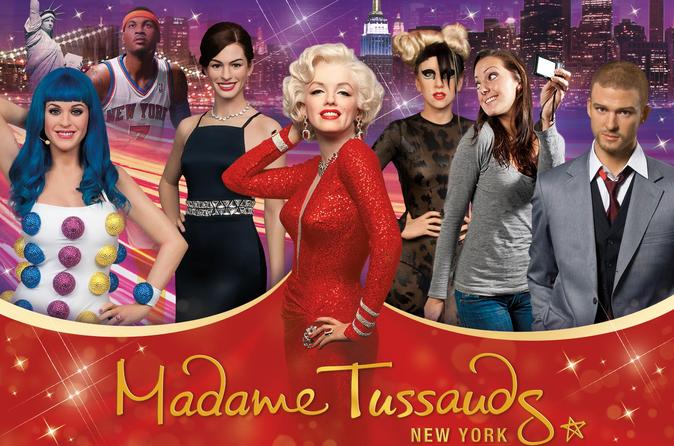 New York City Supersaver: Madame Tussauds New York with Free Hop-on Hop-off Cruise