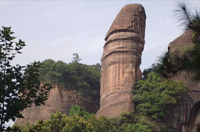 All Inclusive Private Day Trip to Danxia and Nanhua Monastery by Bullet Train from Guangzhou