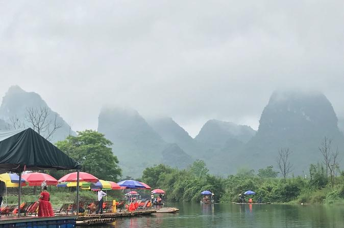 Private Tour: Day Trip to Yangshuo from Guangzhou by Round-way Bullet Train