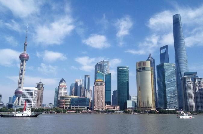 Shanghai Private Day Tour: Ancient Water Town and Huangpu River Cruise