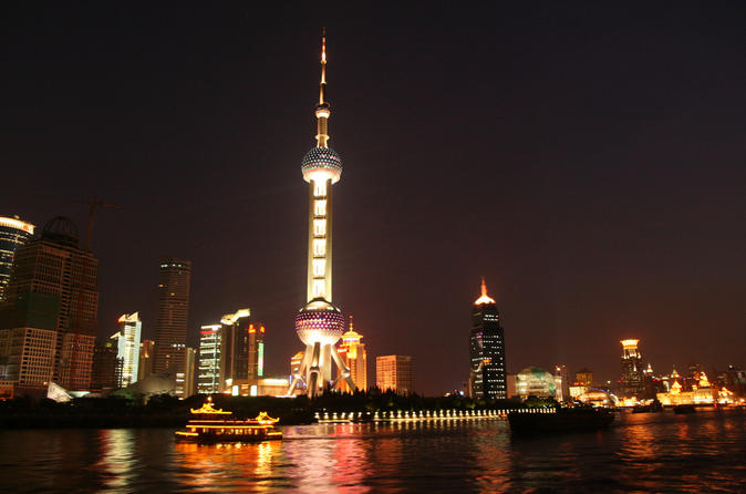 Shanghai Private Tour: Zhujiajiao Sightseeing and Huangpu River Night Cruise