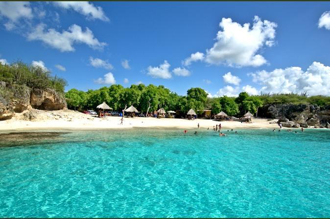 Excursão pela Praia de Curaçao e Cavernas Hato
