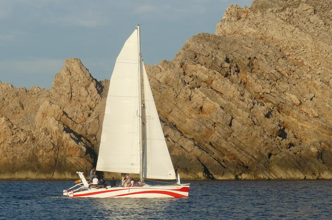 Half day catamaran trip in menorca in menorca 307876
