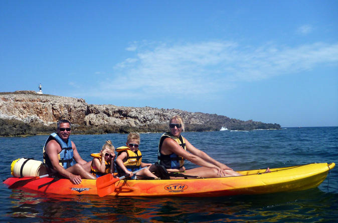Kayak tour of menorca in ciutadella de menorca 310150