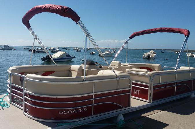 Ria formosa natural park boat trip in faro 308001