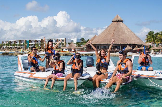 Excursão pela selva e Punta Nizuc Reef em Cancún