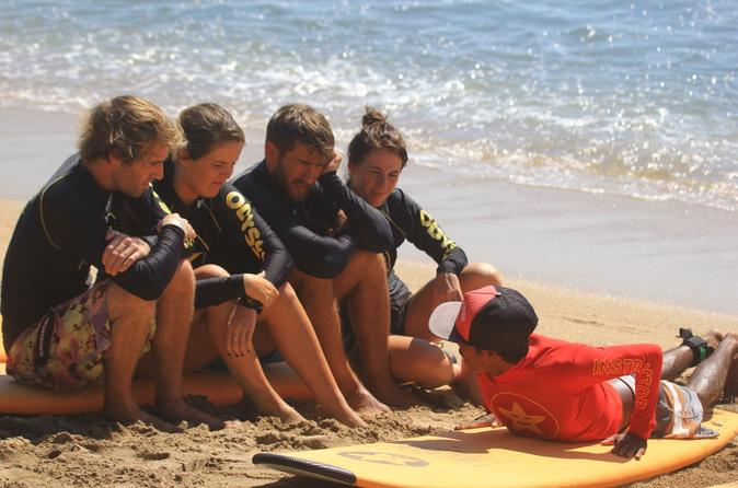 2 5 hour beginner s surfing lesson at kuta beach in kuta 312579