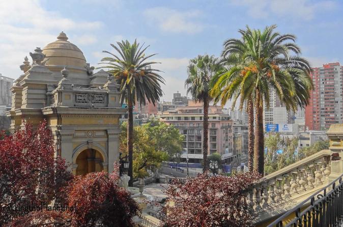 Excursão Panorâmica de Meio dia para Grupos Pequenos em Santiago