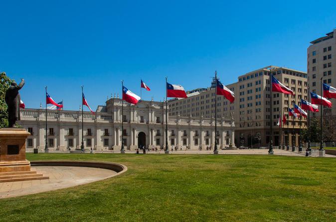Excursão particular de meio dia pela cidade de Santiago