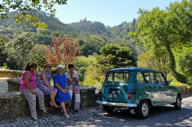 Sintra and cascais private tour in classic renaut 4l from cascais in sintra 458546