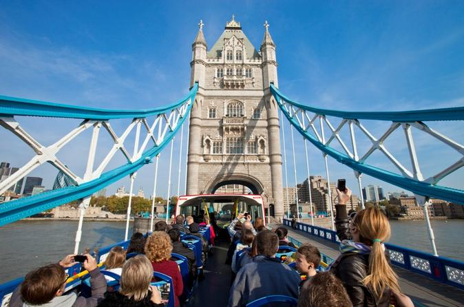 London Hop-On Hop-Off Bus and London Eye Ticket