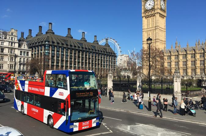 London Hop-On Hop-Off Bus Tour and Tower of London Ticket